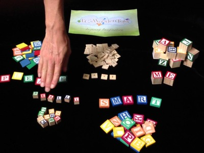 Www.tcswoodentoys.com Wood Alphabet Blocks. Tiles Magnetic Letters Crafts Scrapbook