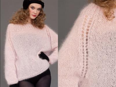 #29 Mohair Sweater, Vogue Knitting Winter 2011.12