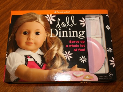 AG Doll Dining Review American Girl Doll Craft Kit