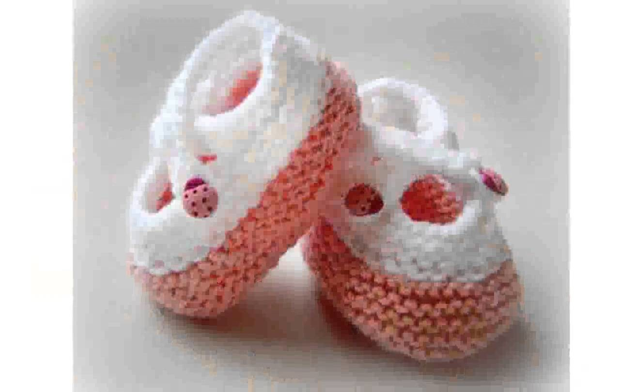 Baby Booties Knit