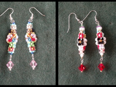 Beading4perfectionists : Spring cleaning video : Chenille earrings beading tutorial