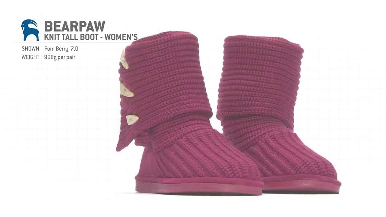 Bearpaw Knit Tall Boot - Women's