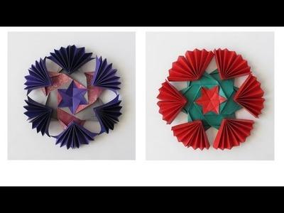 Cool Snowflake - Modular Origami -Estrella
