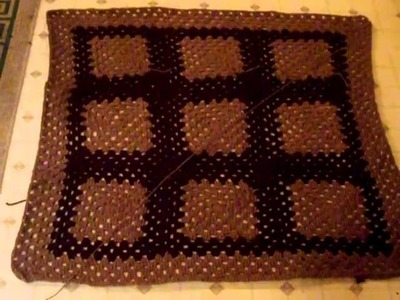 Crochet Couch Decoration 6