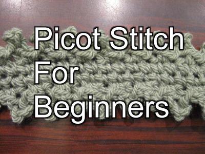 Crochet Picot Stitch - Slow Motion Crochet