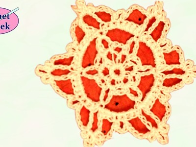 CROCHET SNOWFLAKE MAJA Christmas Crochet Geek