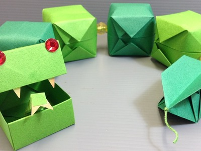 CUTE! Origami Snake Easy Craft Project