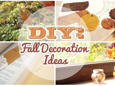DIY: 4 Easy Fall Decorations