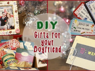 DIY: 5 Christmas Gift Ideas for Your Boyfriend! | ilikeweylie