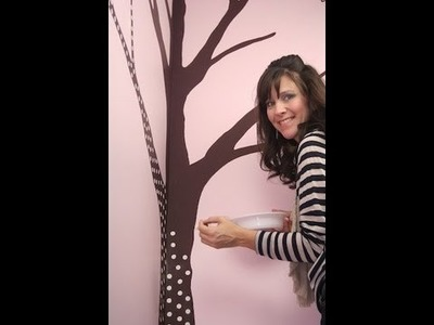 DIY: Butterfly Tree Art Part 1 | ShowMeCute