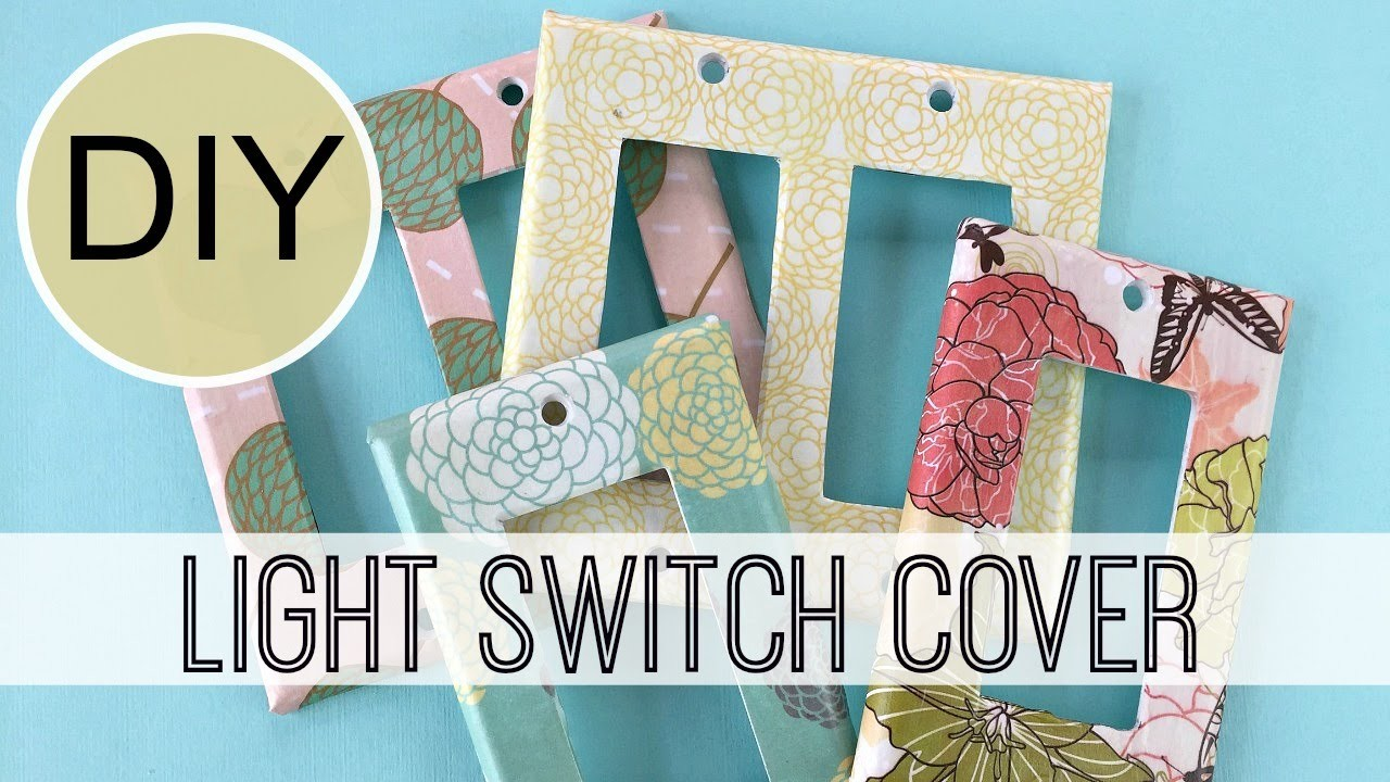 DIY Light Switch Covers | by Michele Baratta
