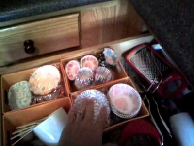 DIY Lining your drawers for $1.00