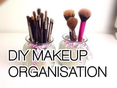 ♡ DIY Makeup organisation and storage ideas ♡