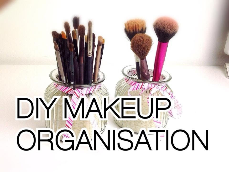 ♡ DIY Makeup organisation and storage ideas ♡