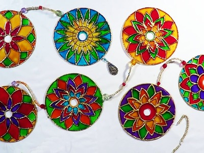 DIY - Mandala com CD - Mandala with CD