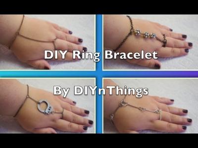 DIY Ring Bracelets