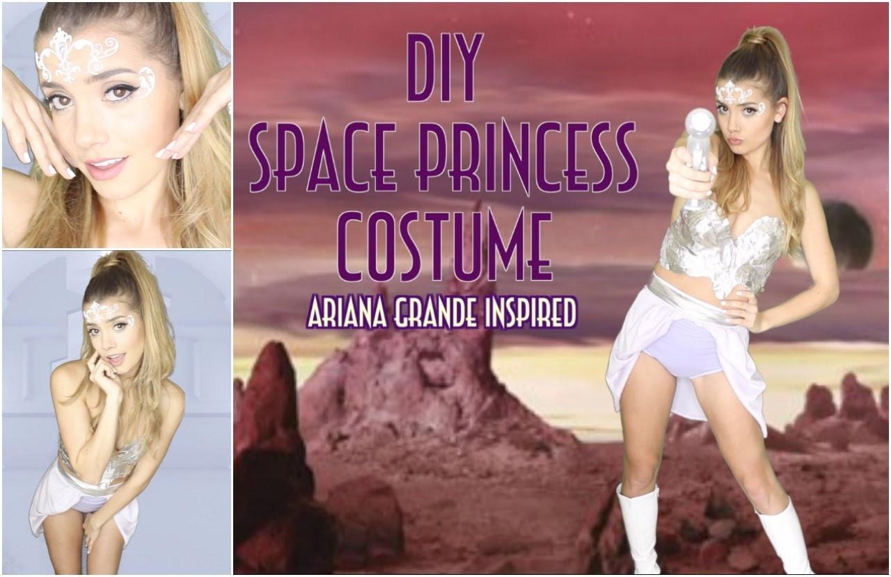 DIY Space Princess Halloween Costume   Ariana Grande- Break Free ft. Zedd