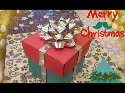 ✄Easy DIY✄ 3D Holiday Card For Friends and Family. Great Gift Idea