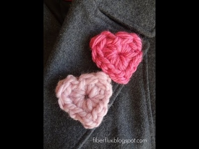 Episode 46: How to Crochet a Chunky Heart Pin