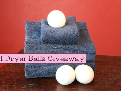 Giveaway!  Wool Dryer Balls from Mountain Meadow Wool Product Review