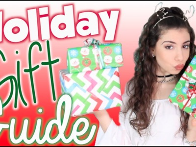 Holiday Gift Guide 2014 + Cheap DIY Gift Ideas!