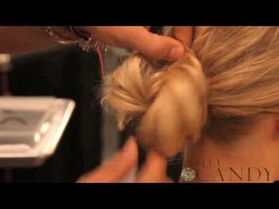 How to Create a Wedding-Day Chignon