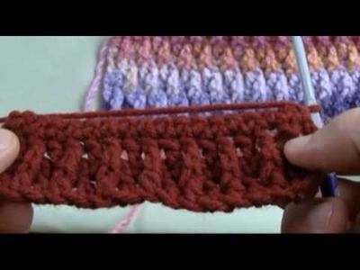 How To Crochet Ripple Stitch Part 2 of 2 - RH