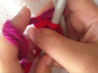 How to Knit: Add, Change or Join 2 Colors in Knitting