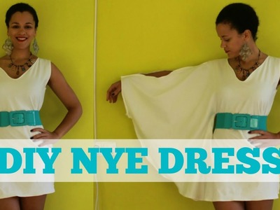 How To Make A Dress for NYE | DIY Dress