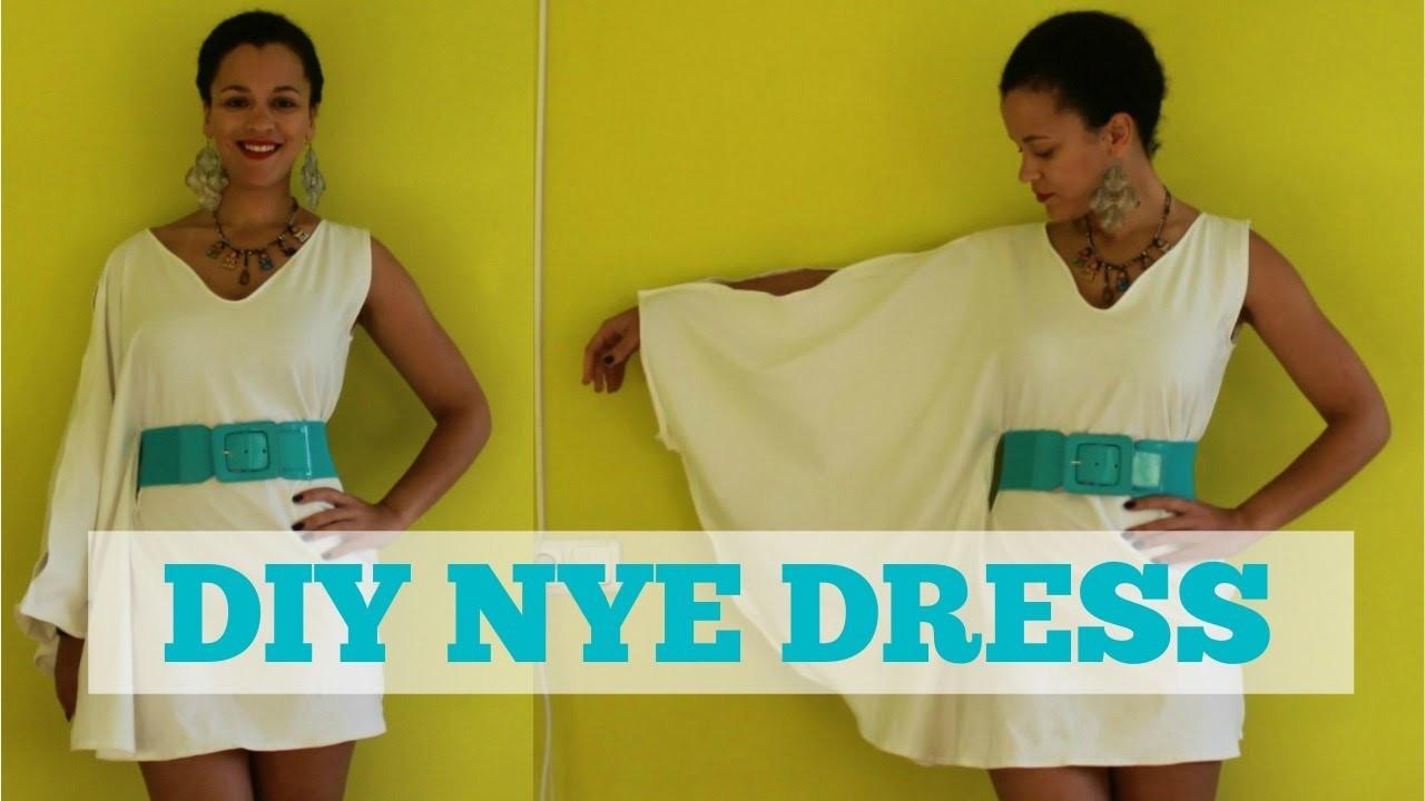 How To Make A Dress for NYE | DIY Dress