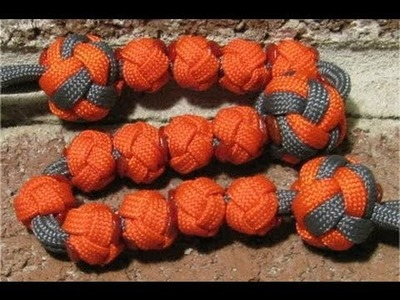 How to make a paracord bead for ranger pace bead counter - by The Paracordist