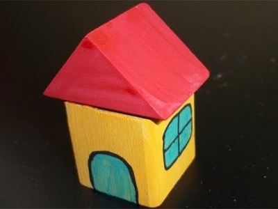 How to make a wooden Block House - EP