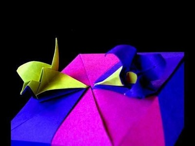 How to make an Origami Crane-Lily Box  Lily Module