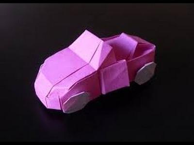 How To Make Origami Car | Origami Car | Origami Paper