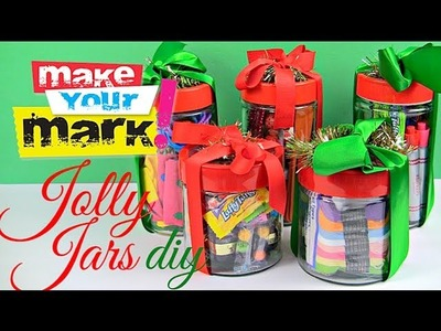 Jolly Jars: Last Minute $5 Gifts DIY