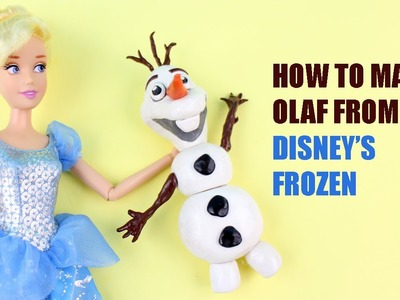 Make a Clay Olaf Doll - Doll Crafts