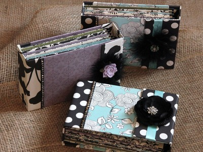 """Mini Scrapbook and Giveaway """"Part 1 The Cover"""""""