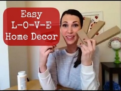 Mod Podge LOVE Home Decor