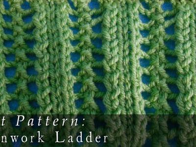 Openwork Ladders   Pattern { Knit }