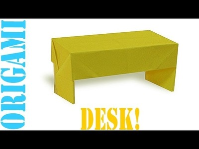 Origami Daily - 304: Desk (Table) - TCGames [HD]