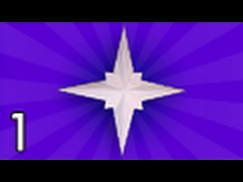 Origami Holiday Star (Jared Needle) - Part 1