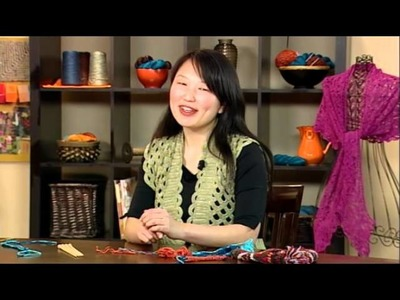Preview Knitting Daily TV Episode 908 - Unusually Unique