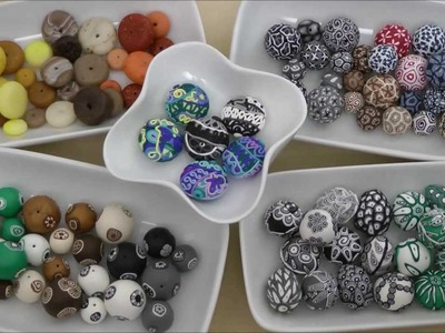 Samunnat Polymer Clay Beads from Nepal Introduction Overview