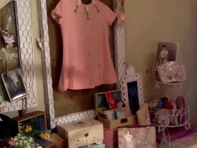 Shabby Chic Craft Room! This is my first video! Hope you guys enjoy it! Best regards, Wanda