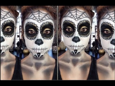 Sugar Skull.Dia de los Muertos Tutorial + DIY