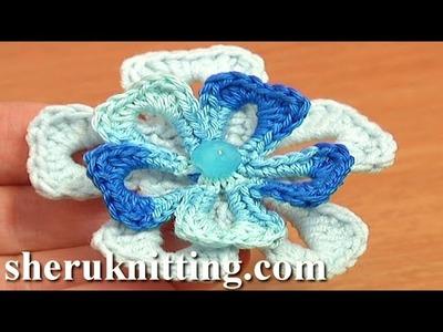 Super Easy Crochet Flower Tutorial 74 Free Crochet Flower Patterns