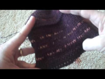 Swatch for Classic Lines Cardigan