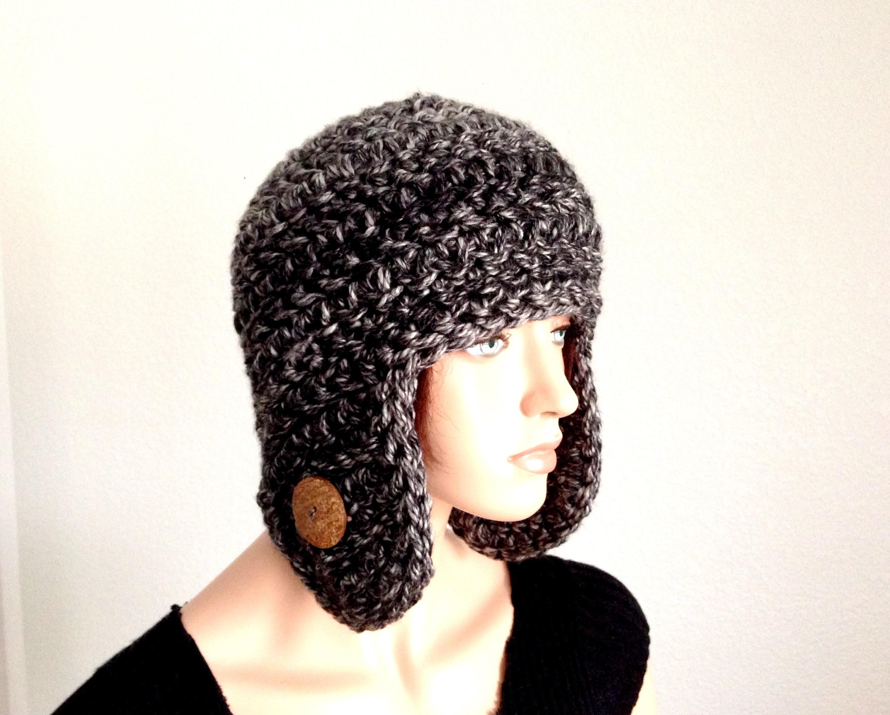 Tutorial: How to Crochet an Earflap Winter Beanie