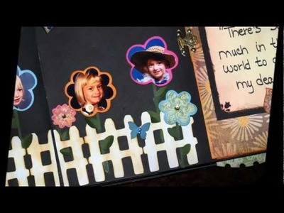 A fairy tale pop-up scrapbook