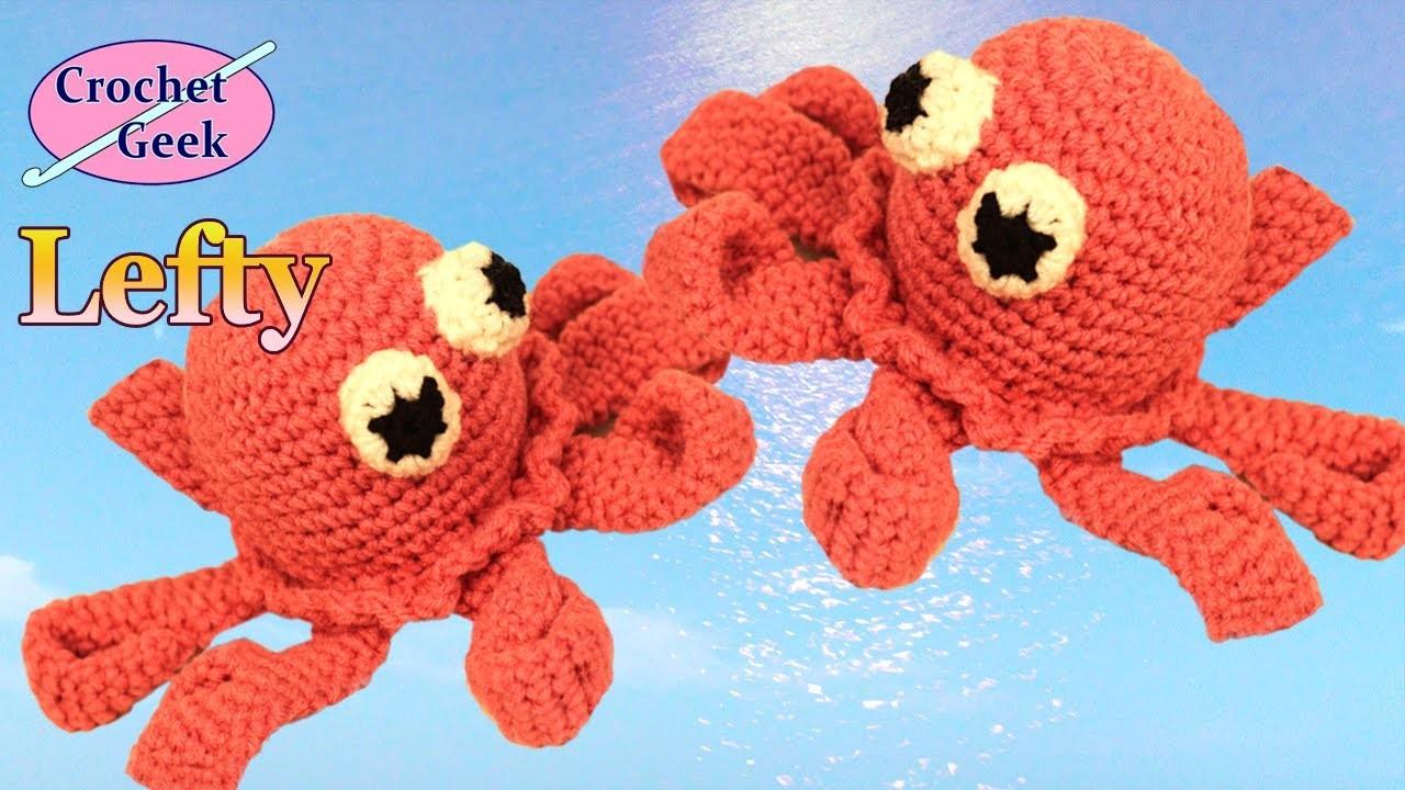 Amigurumi Crochet Octopus Lefty -  Crochet Geek